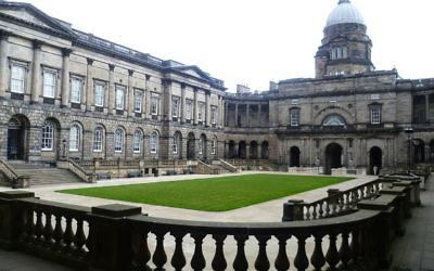 Edinburgh University's Old College