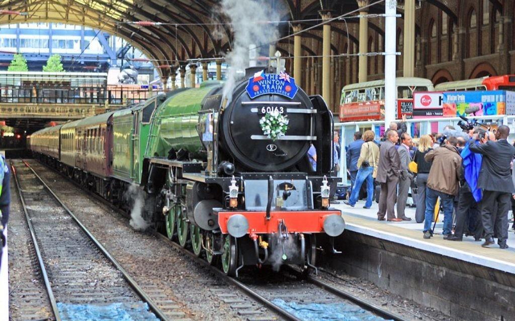 The iconic Winton steam train.