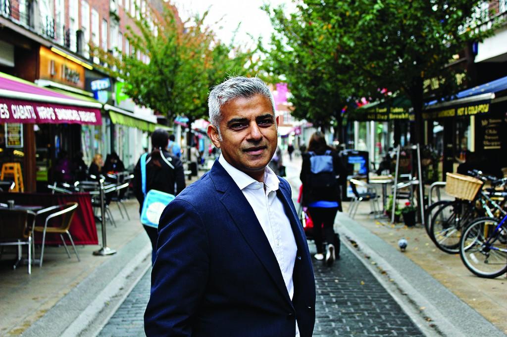 Labour mayor Sadiq Khan