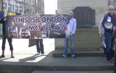 """This is London not Tel Aviv"""
