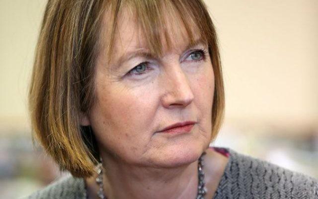 Former Labour deputy leader Harriet Harman
