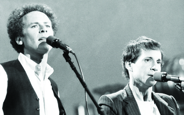 Long ago, it must be, I have a photograph: Paul Simon with former collaborator Art Garfunkel
