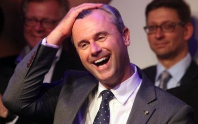 Norbert Hofer, leader of Austria's Freedom Party.