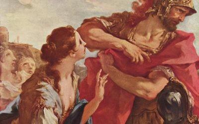 The Return of Jephtha, by Giovanni Antonio Pellegrini