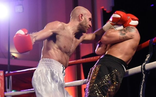 Milch (left) will go into his first title fight on the back of a 100 percent unbeaten record