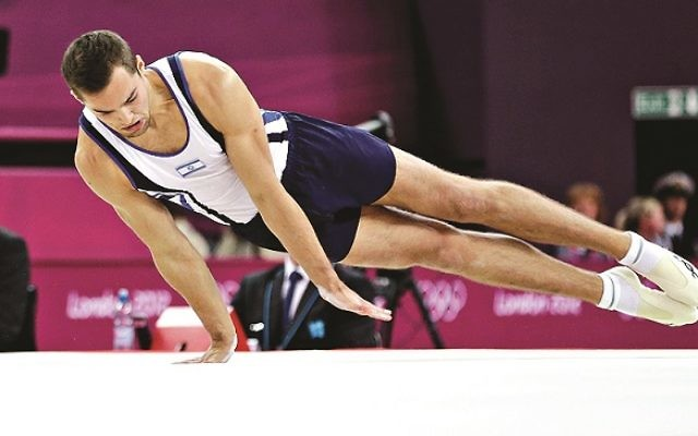 Shatilov in action during the last Olympic Games in London