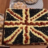 A royal shavuot cake for the Big Iftar