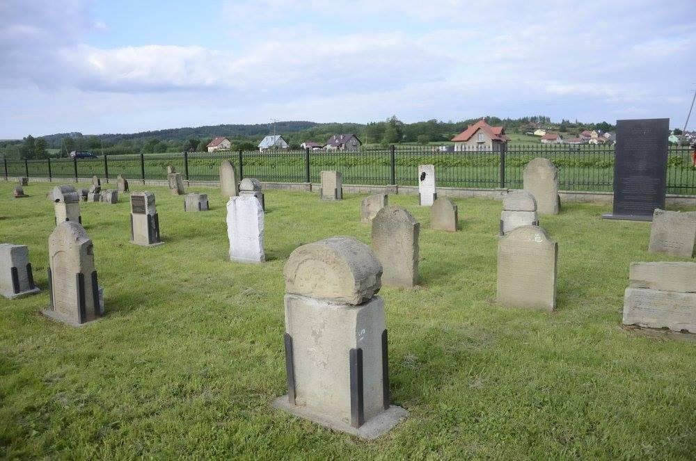 Brzostek Jewish cemetery copy
