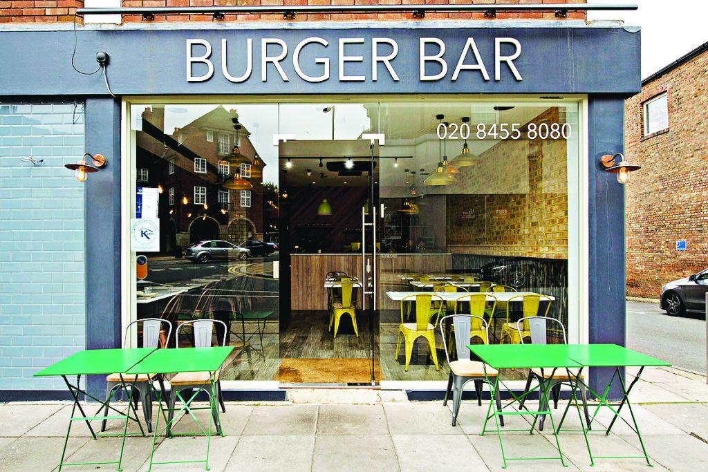 Burger Bar outside