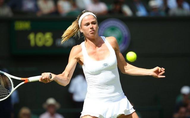Camila Giorgi is through to the second round at Wimbledon
