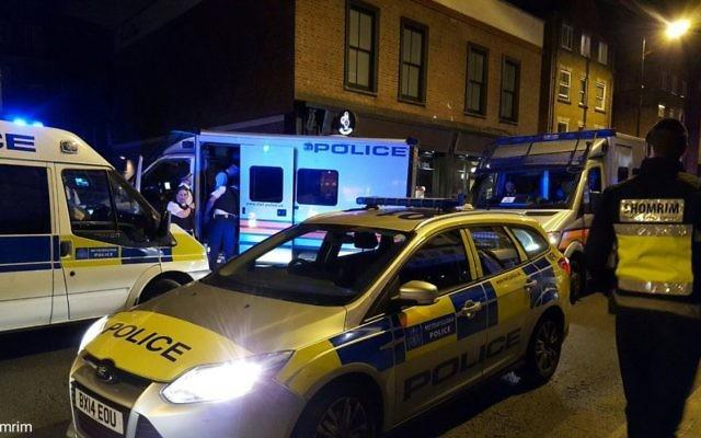 Shomrim volunteers helped secured the suspects' arrest