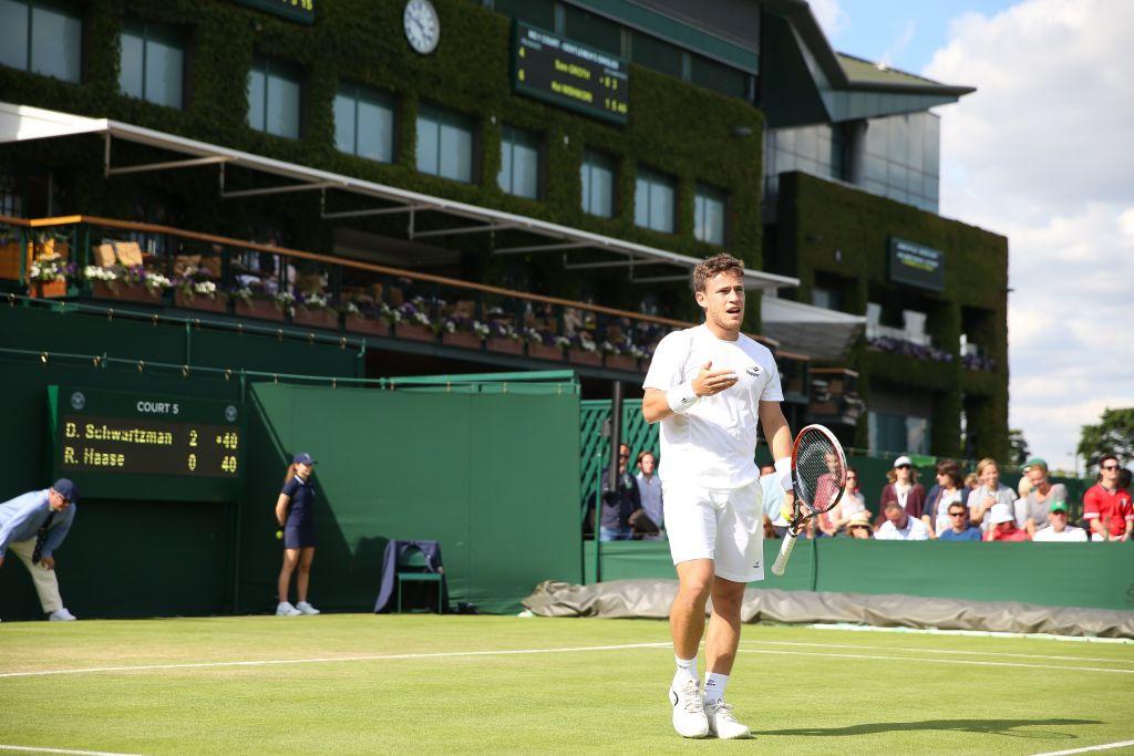 Diego Schwartzman Seeded 15 For Wimbledon Jewish News