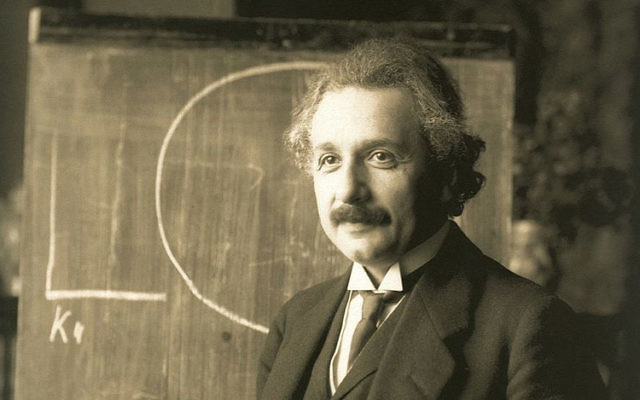 Albert Einstein in 1921