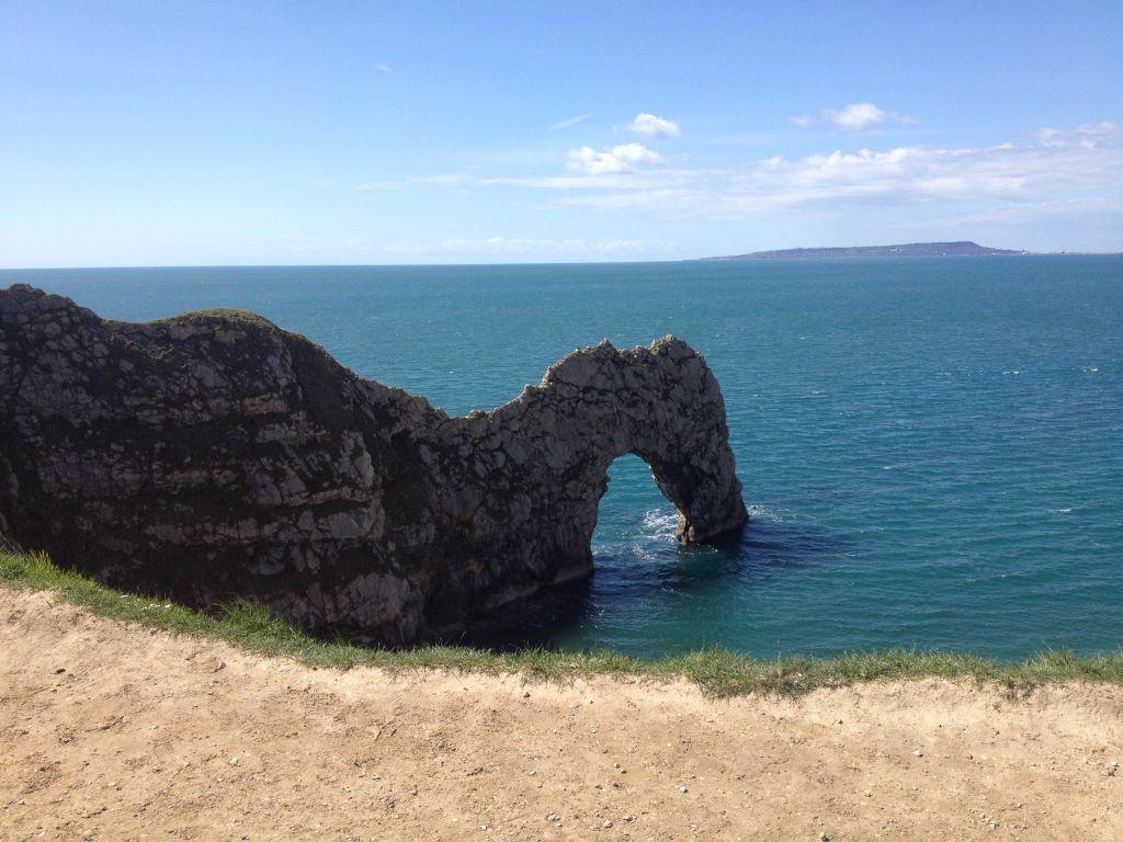 The magnificent Durdle Door limestone arch