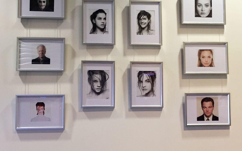 Various actors and musicians, including David Bowie, Angelina Jolie, Alan Rickman and Leonardo DiCaprio