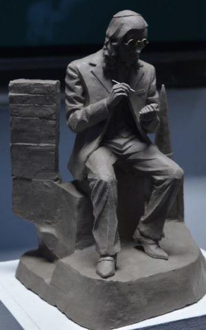 A sculpture by participant Benjamin Durrant