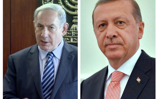 Israeli leader Netanyahu and Erdoğan have had major clashes in the past
