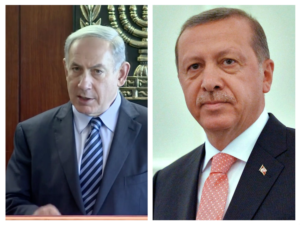 Israeli leaders Netanyahu and Erdoğan have had major clashes in the past, but relations seem to be improving.