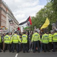 Al Quds Day in London (Credit: Rick Findler/PA Wire)