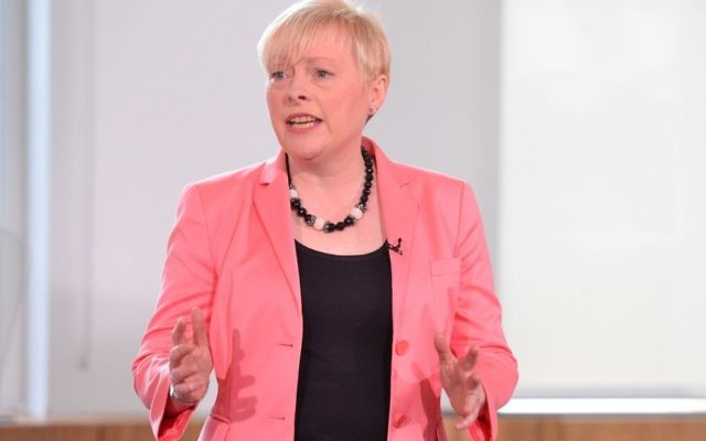 Angela Eagle during the launch of her leadership campaign