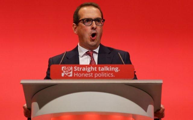 New Labour frontrunner Owen Smith