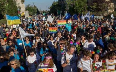 Jerusalem Pride (Photo credit: JINIPIX)