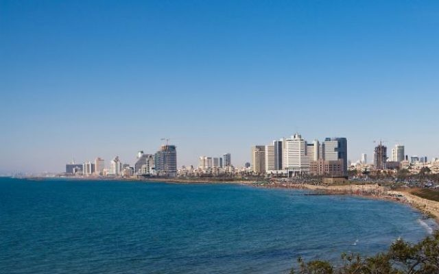 Tel Aviv's coast