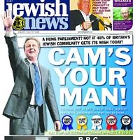 Cameron featured on 6 May 2010 after the General Election