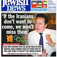 David Cameron defiant on Iran at the Olympics, 11 March 2011