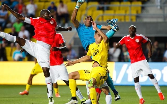 Hapoel Beer Sheva grounded out a goalless draw in Moldova to see them through. Picture: FC Sheriff Tiraspol