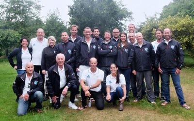 Team Israel. Picture: Haarmonica