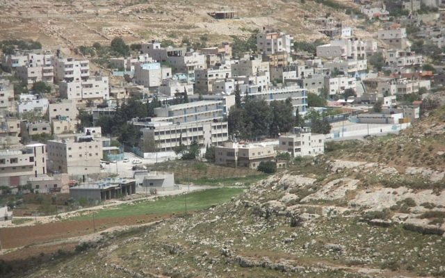 Fawwar Camp in the Hebron district