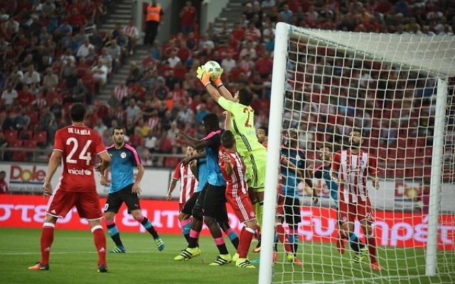Hapoel Beersheva played out a 0-0 draw in Athens