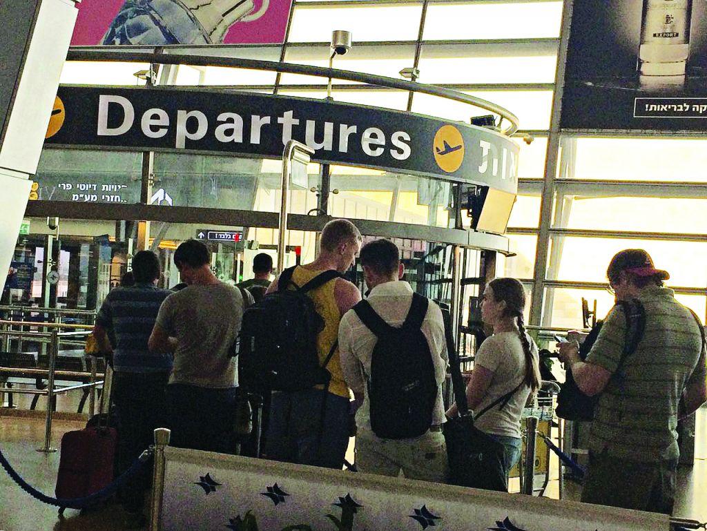 Ben Gurion departures