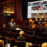 Lights, Chutzpah, Action at Phoenix Cinema. Picture: Asya Gefter
