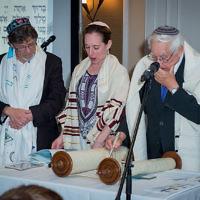 Rabbis Pete Tobias, Charley Baginsky and Andrew Goldstein