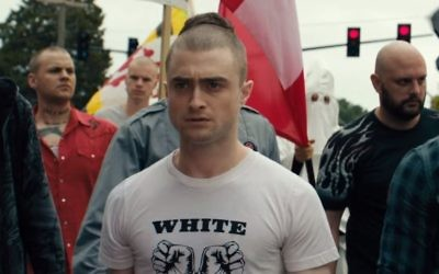 Daniel Radcliffe in the trailer for neo-Nazi thriller Imperium