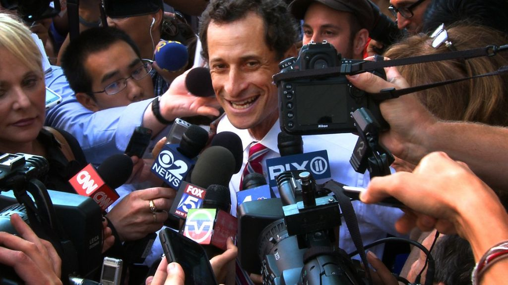 The film explores Anthony Weiner's failed - and at times farcical - attempt to run for Mayor of New York following revelations he sent sexually explicit images to numerous women