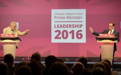 Jeremy Corbyn and Owen Smith   (Photo credit: Ben Birchall/PA Wire)