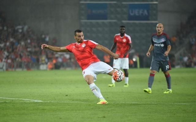 Hapoel Beersheva claimed a stunning Champions League win over Olympiakos