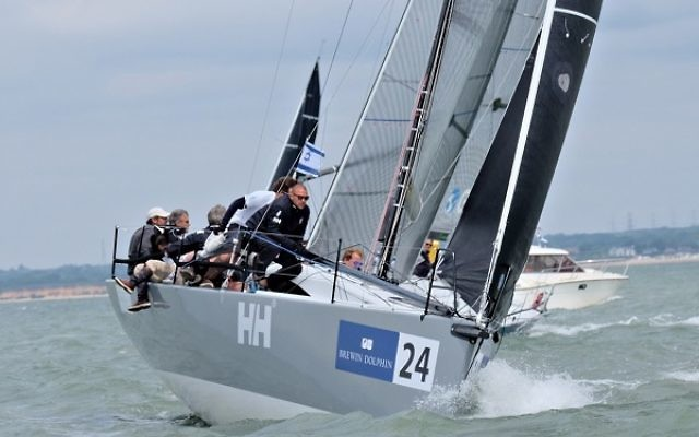 The Israeli team in action on the Isle of Wight, Picture: Haar Monica