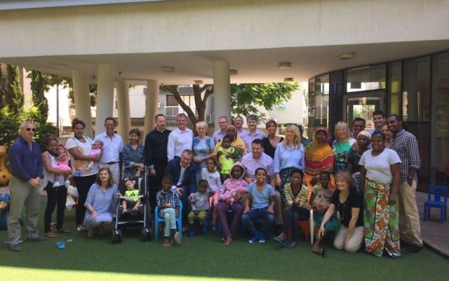 Conservative MPs and Peers visit Save a Child's Heart as they, meet children receiving life-saving heart surgery in Israel