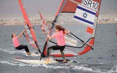 Maayan Davidovich has begun her sailing campaign