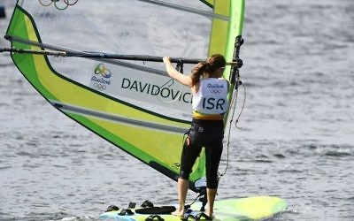 Maayan Davidovich moved closer to securing a place in the medal race