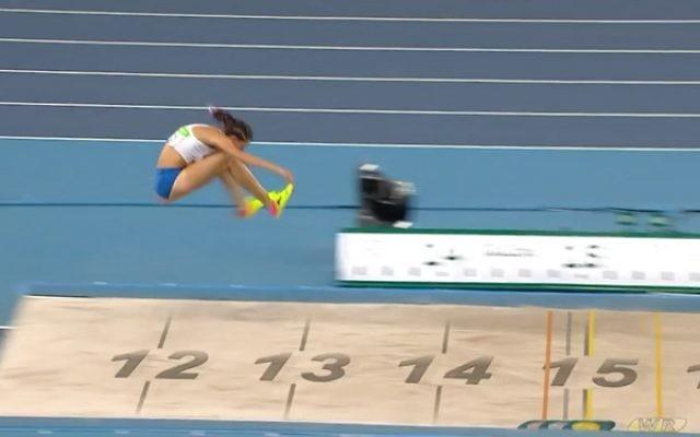 Hanna Knyazyeva-Minenko claimed three season bests, as she finished final in fifth place