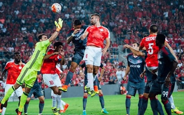 Hapoel Beersheva knocked out Olympiakos to reach the play-off tie