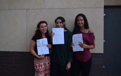 JCoss:  Indigo Smith, Ruth Launer and Aliyah Kossoff
