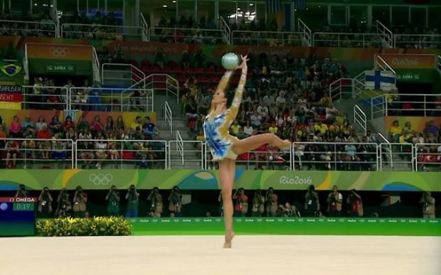 Neta Rivkin began her all around qualification programe on Friday afternoon