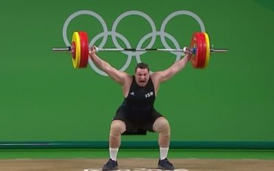 Igor Olshanetskyi successfuly lifted 160kg