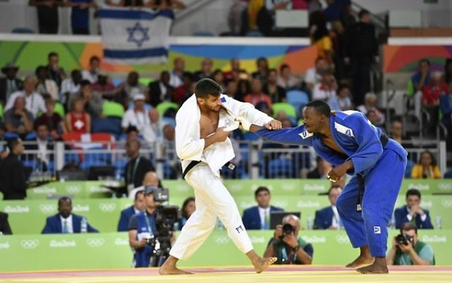 Golan Pollack was beaten by an Ippon